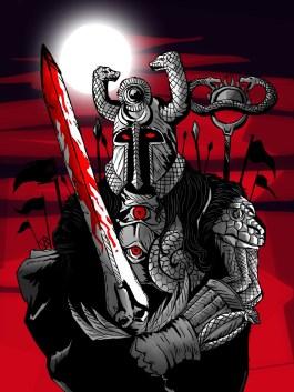 Resultado de imagem para Thulsa Doom art