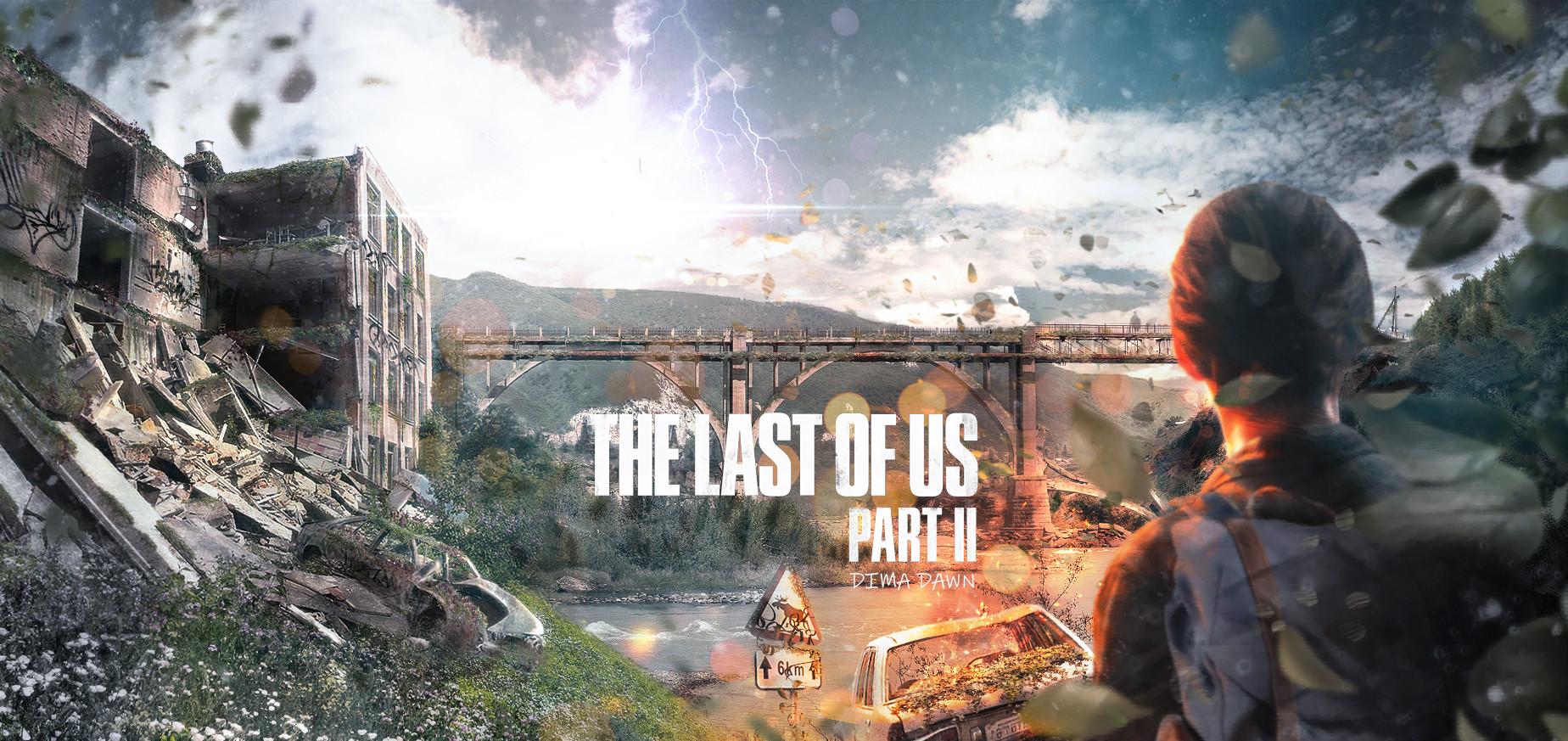 Art Wallpaper Hd Artstation The Last Of Us Part 2 The Last Of Us Part