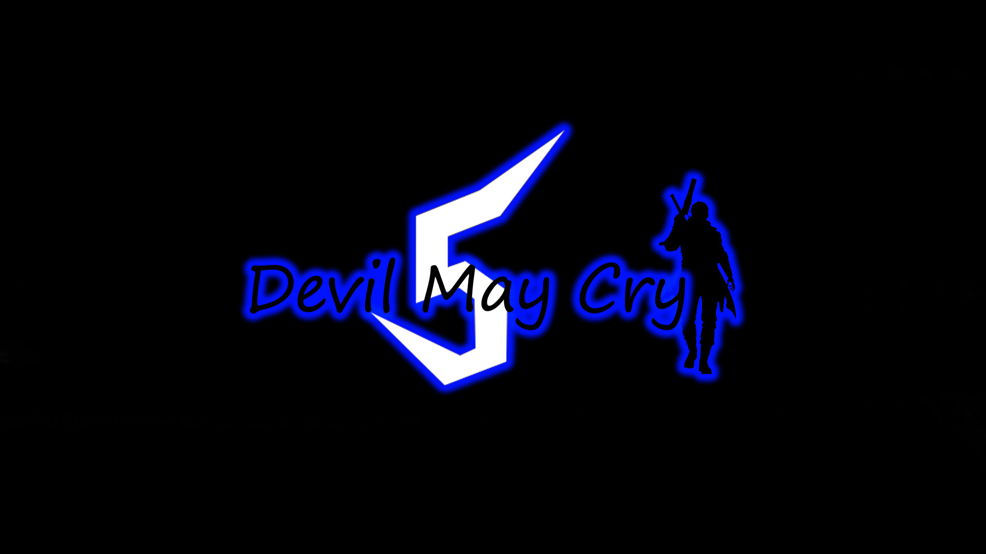 devil may cry 5 logo on the old way [ 1920 x 1080 Pixel ]