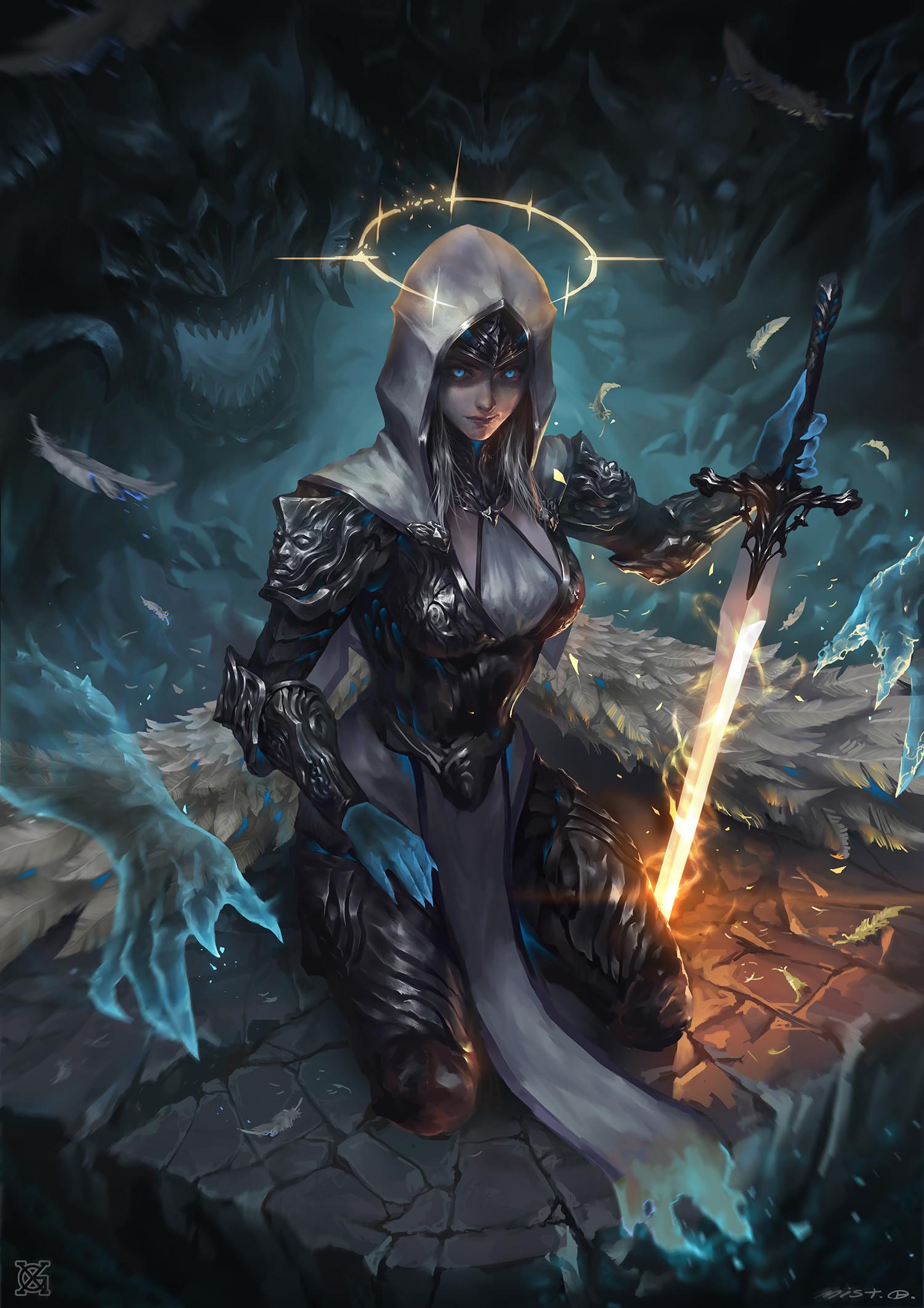 Artstation - Dark Angel Mist Xg
