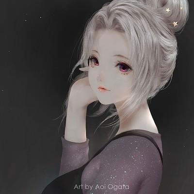 Persona Girls Wallpaper Aoi Ogata