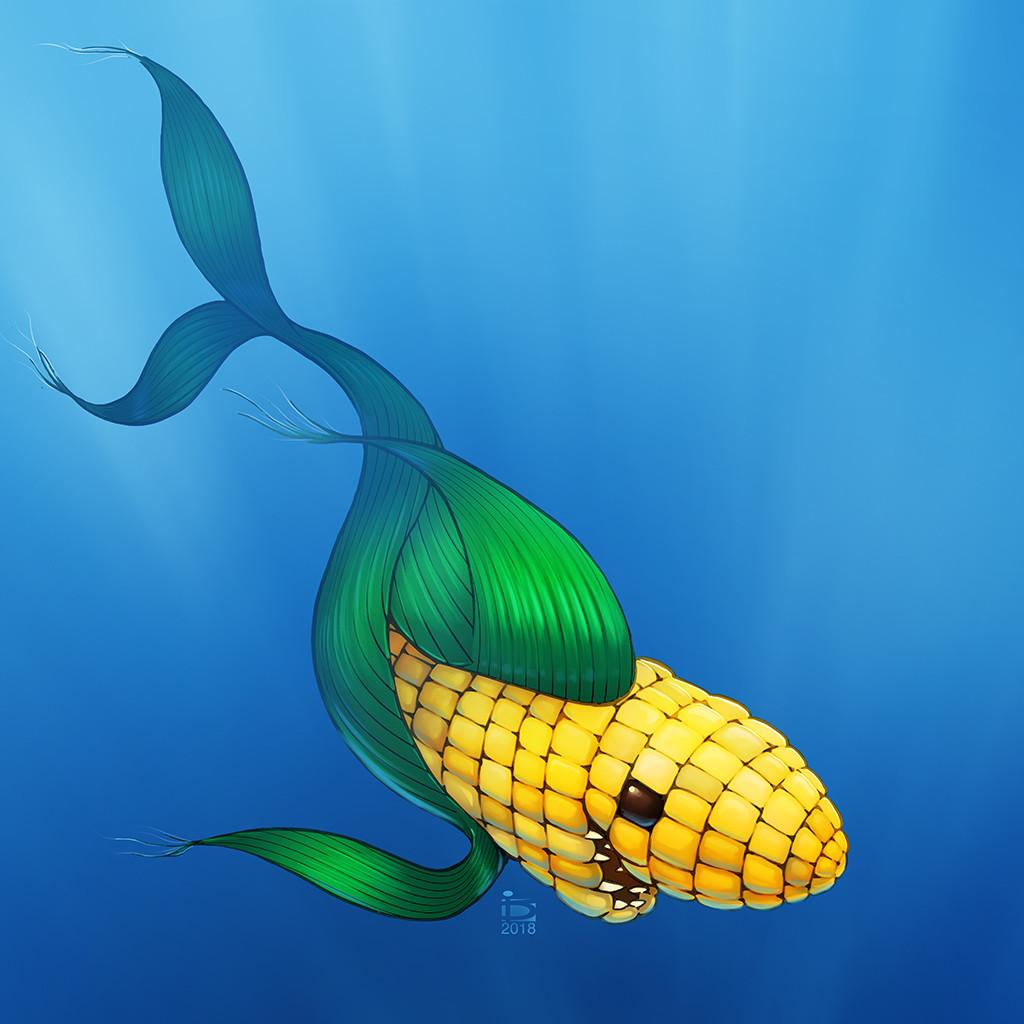 artstation corn shark david
