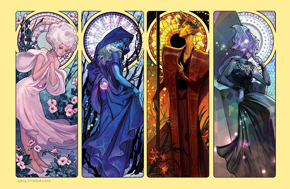 Anime Moon Wallpaper Artstation Steven Universe The Precious Gem Series