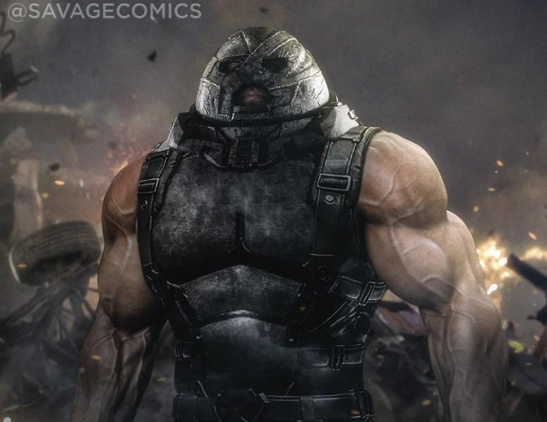 ArtStation - Juggernaut , Savage Comics