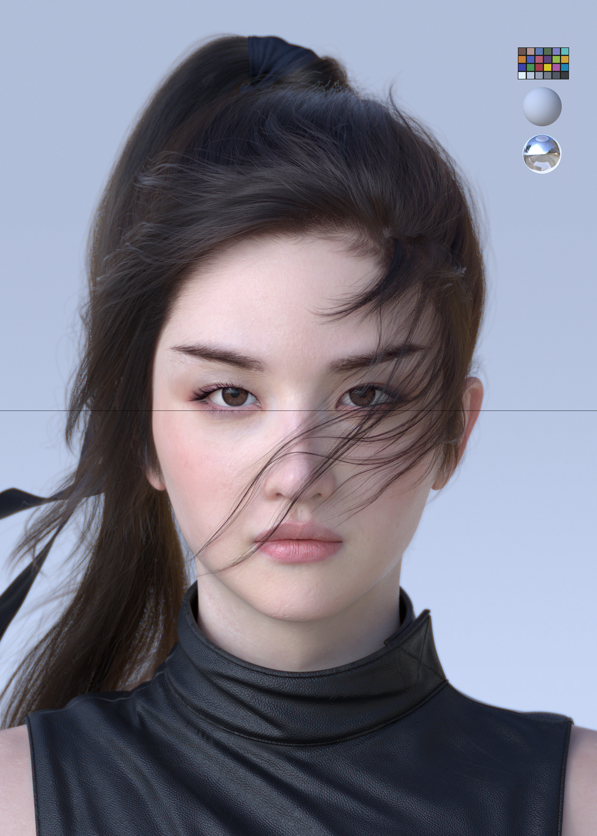Jung Won Park Liu Yifei Likeness As Mulan Fin