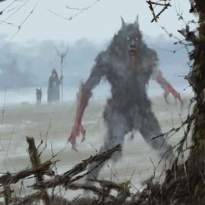Jakub Rozalski  furry demon