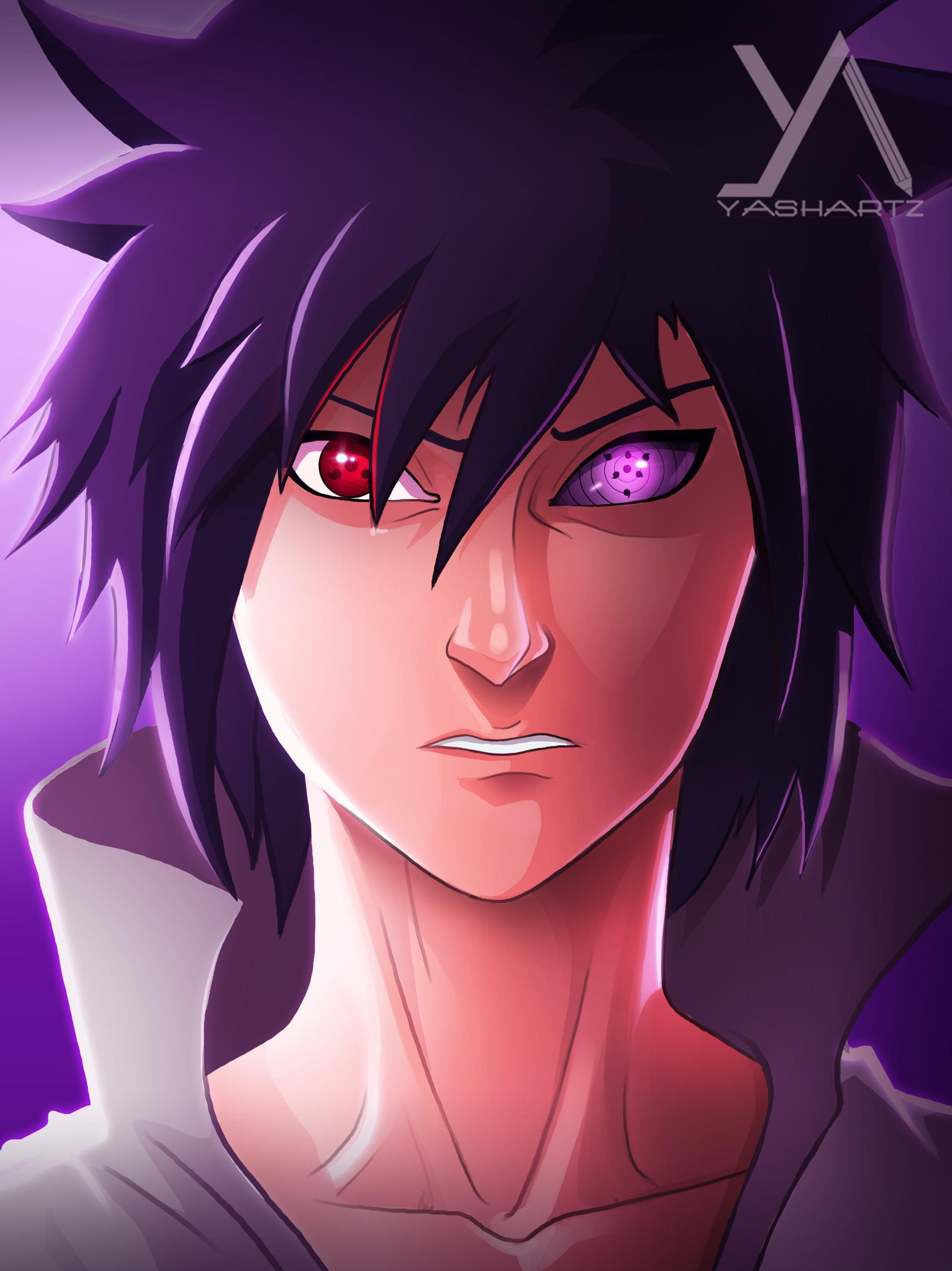 artstation rinnegan sasuke yash