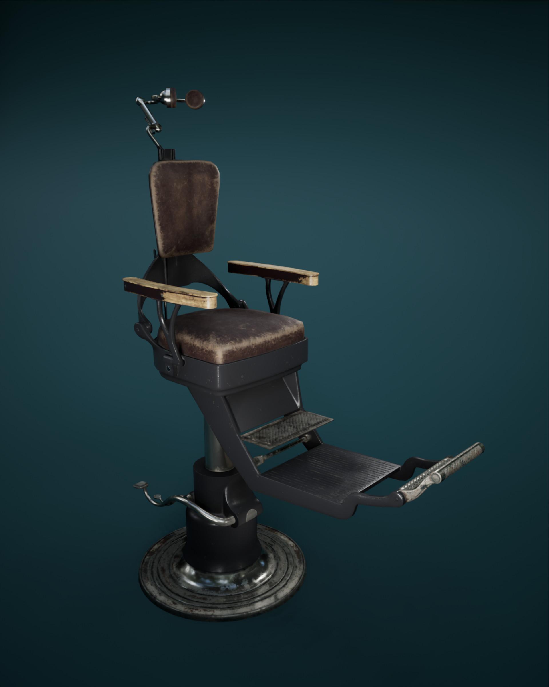 vintage dentist chair wicker outdoor chairs uk artstation dental annelien heyninck