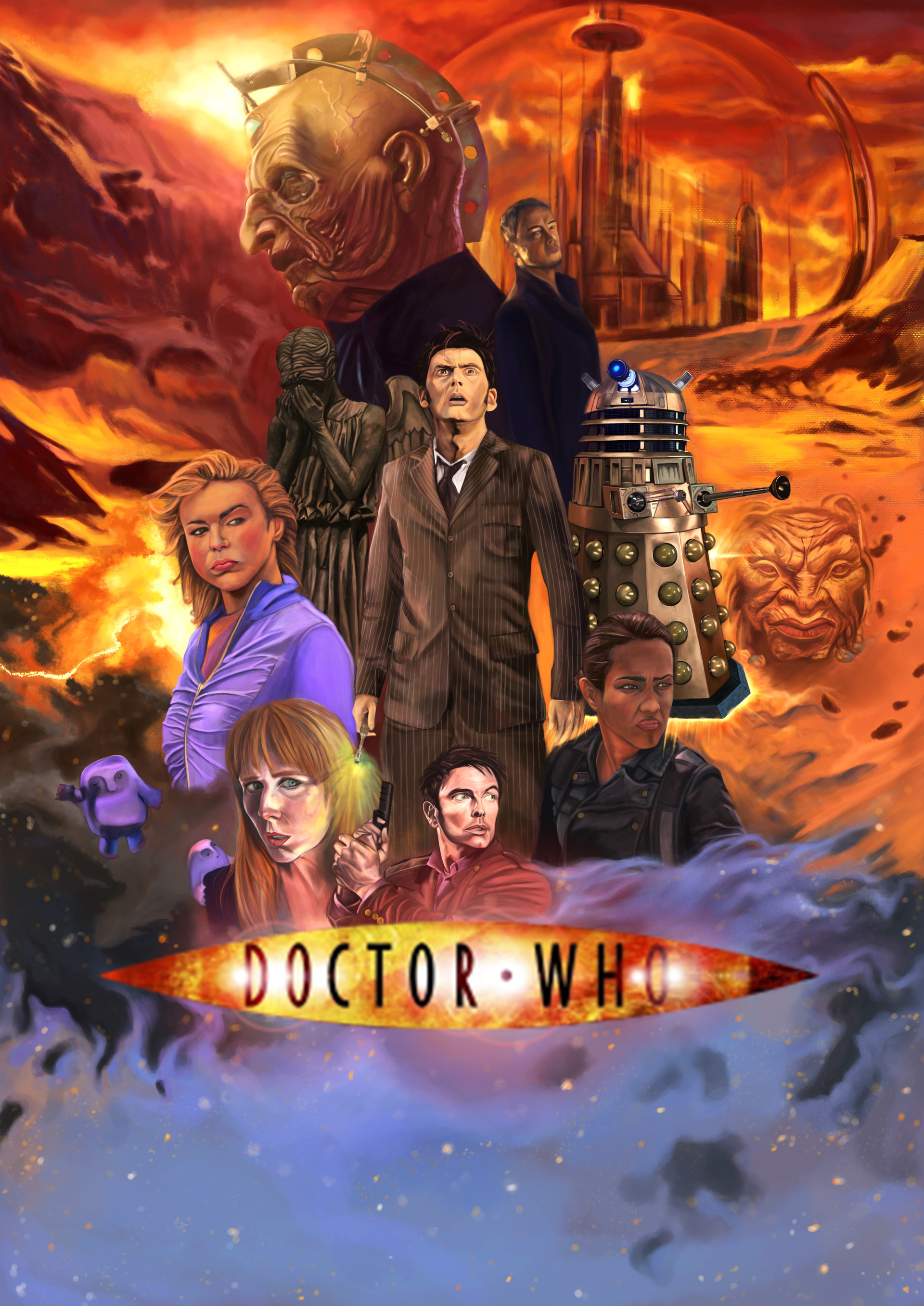Doctor Who Fan Art : doctor, Carolina, Doctor