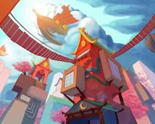 ArtStation Concept Art Fantasy City Kat Nowak