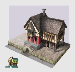 Frido Nahon Medieval house design