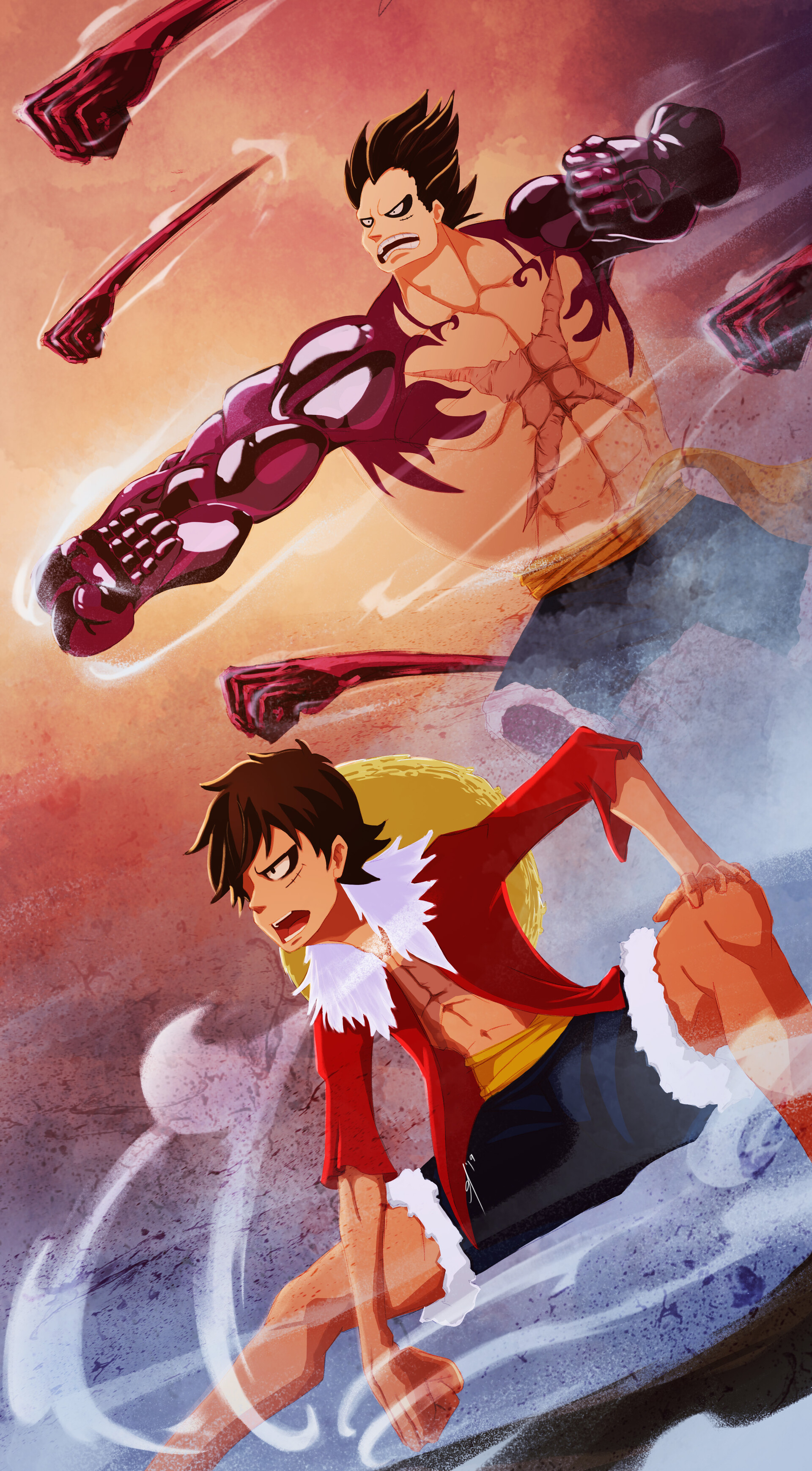 Tons of awesome luffy gear fourth wallpapers to download for free. When Does Luffy Use Fourth Gear