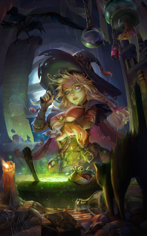 ArtStation - 小女巫的黑暗魔法, MXT M
