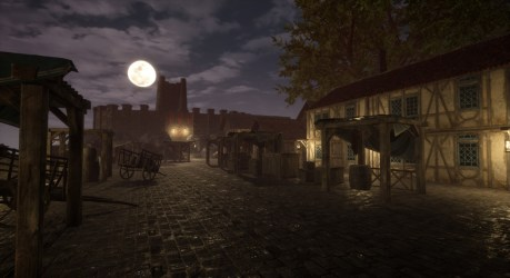 James Cotterill Medieval Port Town Unreal Engine 4