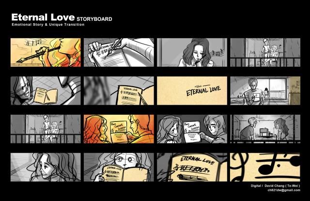 David dream station eternal love 01