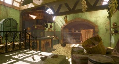 ArtStation Medieval Kitchen HANA YANG