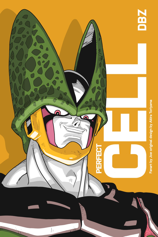 Cell Dragon Ball Z : dragon, ArtStation, Perfect, (Dragon, Cyberfoxs, Artwork