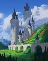 Edu Bokow Pale Castle Anime Style