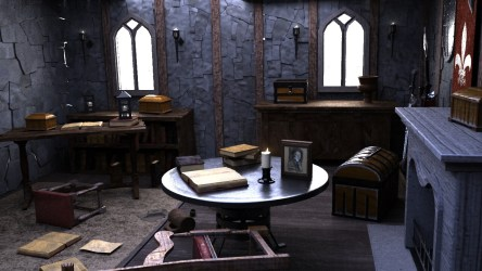 Doppel G Medieval Living room without lighting