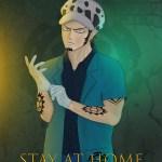 Artstation The Surgeon Of Death Trafalgar D Water Law Wants You To Stay Home Fabien Ilamarane