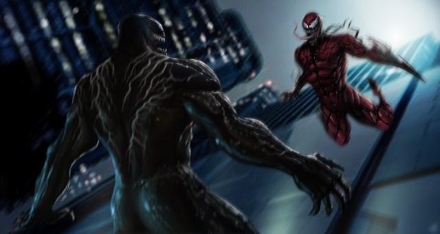 Suvam D Fellow - Venom vs Carnage concept art