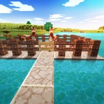 Artstation Landscapes Ideas Realmcraft Free Minecraft Style Game Tellurion Mobile