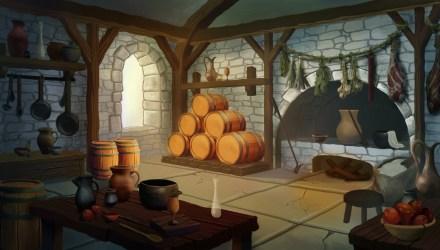 ArtStation Medieval Kitchen Alex Strikalo