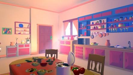 ArtStation Asset Cartoons Kitchen 3D model Resources