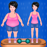 Grasa 2 chica fitness delgado Apk icon