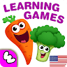 download Funny Food educational games for kids toddlers apk