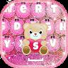 Pink Glitter Keyboard Changer icon
