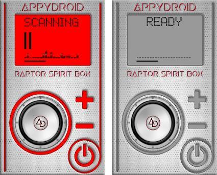 RAPTOR Spirit Box 2 6 apk download for Android • appinventor