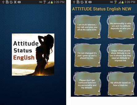 ATTITUDE Status English NEW 1 0 apk download for Android