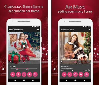 christmas video maker with music on windows pc download free 101 appsworlddiwaliphotovideomaker