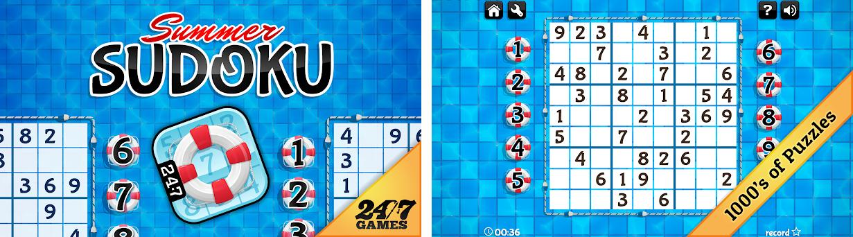 Summer Sudoku 1 10 apk download for Android • air summerSudoku