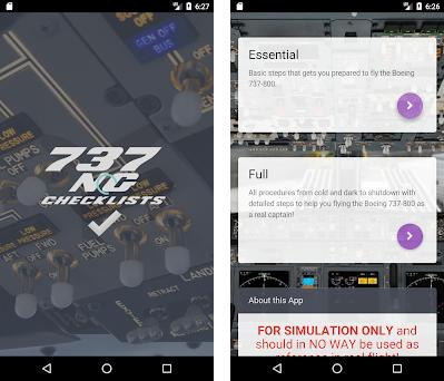 Boeing 737 NG Checklists and Calculator 3 2 3 apk download