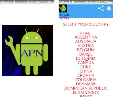 APN SETTING ALL OPERATOR 7 2 apk download for Android • apn