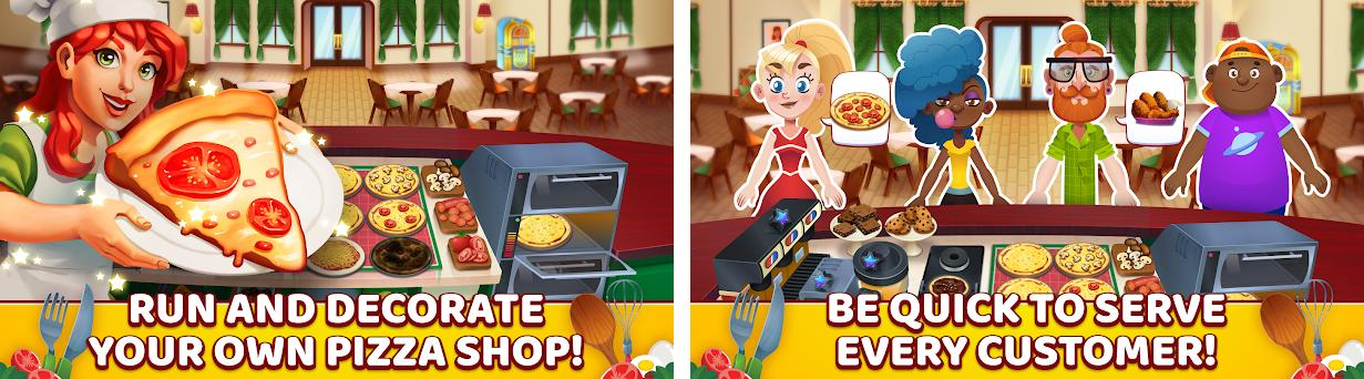 My Pizza Shop 2 - Italian Restaurant Manager Game preview screenshot