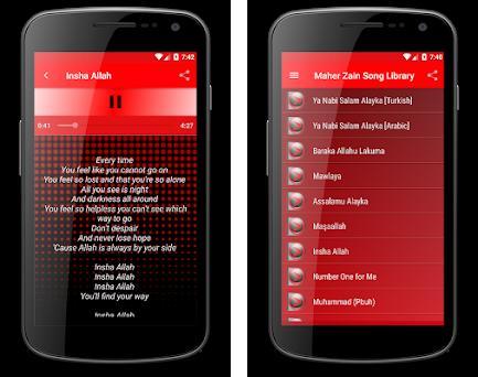 Maher Zain, Sami Yusuf & Nissa Sabyan Songs Lyrics 2 1 apk download