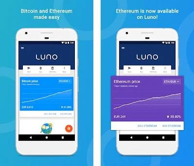 Android app to buy cryptocurrency