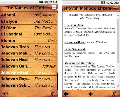 The Names of God 2 0 1 0 apk download for Android • com