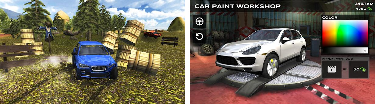 Extreme SUV Driving Simulator preview screenshot