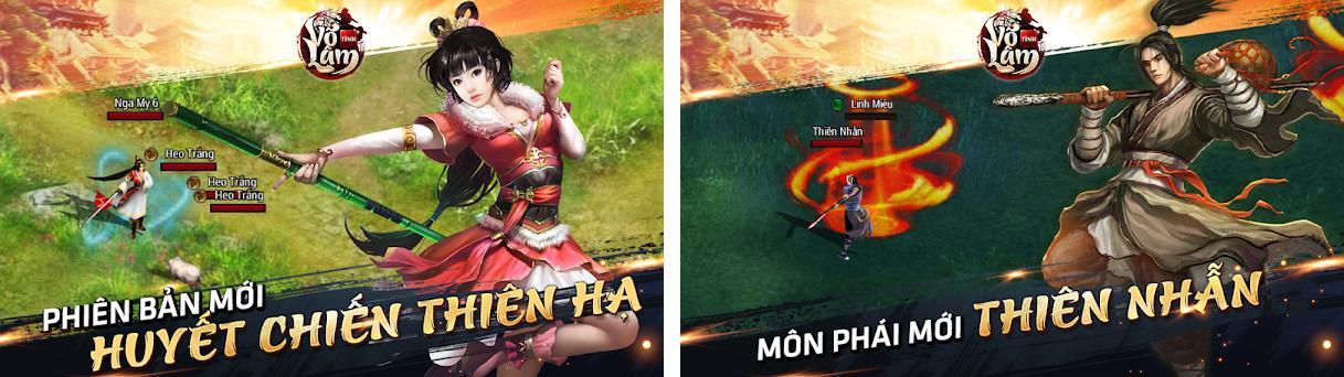 Tinh Vo Lam - VLTK Mobile preview screenshot