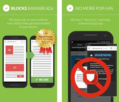 Free Adblocker Browser - Adblock & Popup Blocker 64 0