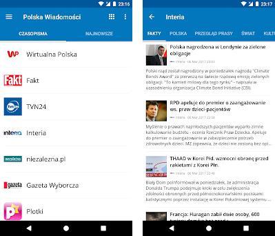 Poland News (Aktualności) preview screenshot