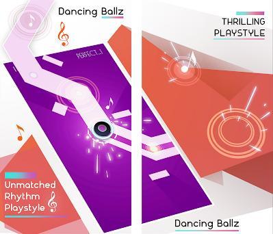 Dancing Ballz: Magic Dance Line Tiles Game Capturas de pantalla