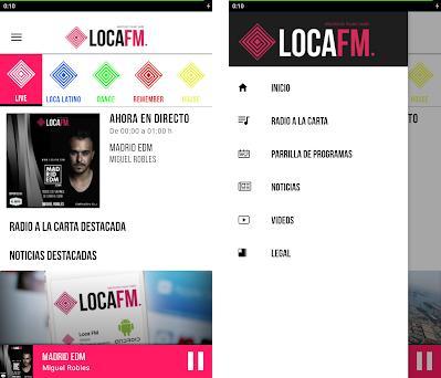 Loca FM Capturas de pantalla