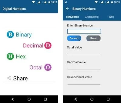Number Conversion & Arithmetic 3 0 1 apk download for
