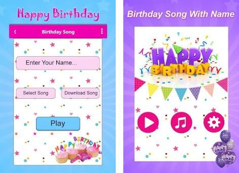 Birthday Song with Name 1 18 apk download for Android • com artmaker