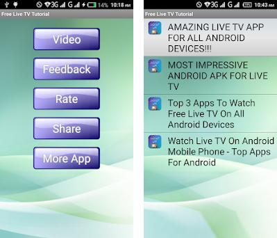 Free Live TV Tutorial / Review on Windows PC Download Free - 1 0